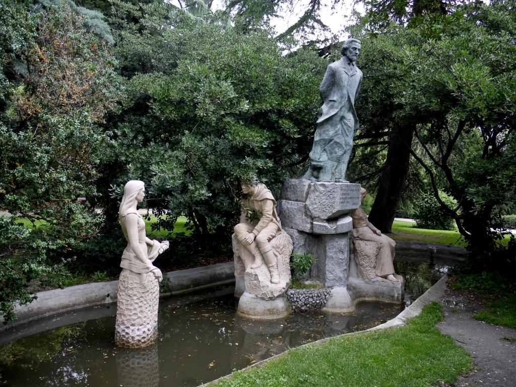 Parque quinta de la fuente del berro en madrid parque for Piscina fuente del berro